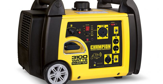 Champion 3100-Watt RV Ready Portable Inverter Generator with Wireless Remote Start - The best RV generator