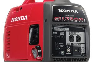 Honda EU2200i 2200-Watt 120-Volt Super Quiet Portable Inverter Generator The best portable generator of 2018