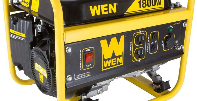 WEN 56180 1800-Watt Portable Power Generator - The best generator for powering all your essential devices